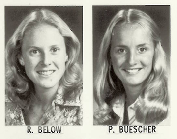 Close friends Ruthie Below Dell and Trish Buescher Nelson graduated with UF bachelor's degrees in occupational therapy in 1979.