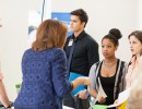 Students and employers at PHHP Career Day