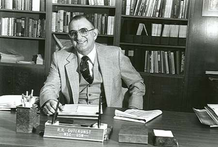 Dean Gutekunst at his desk