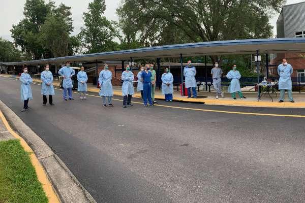 researchers outside PK Yonge school