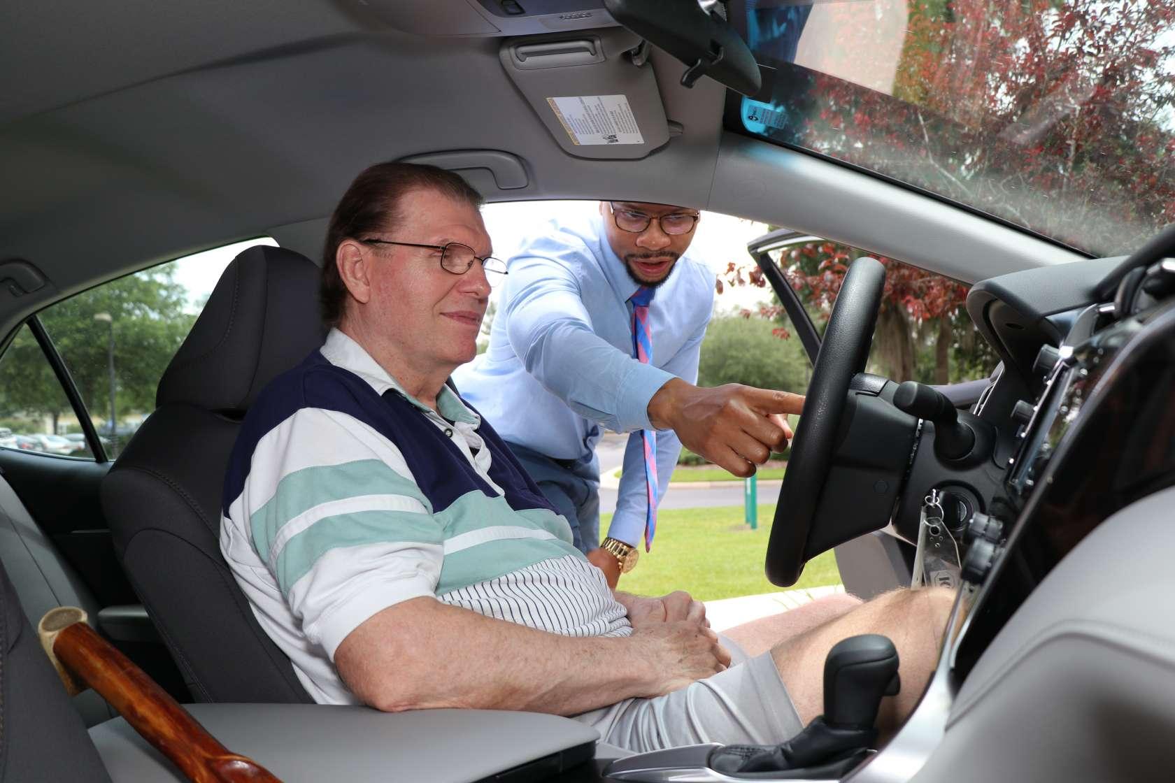 SmartDrive car