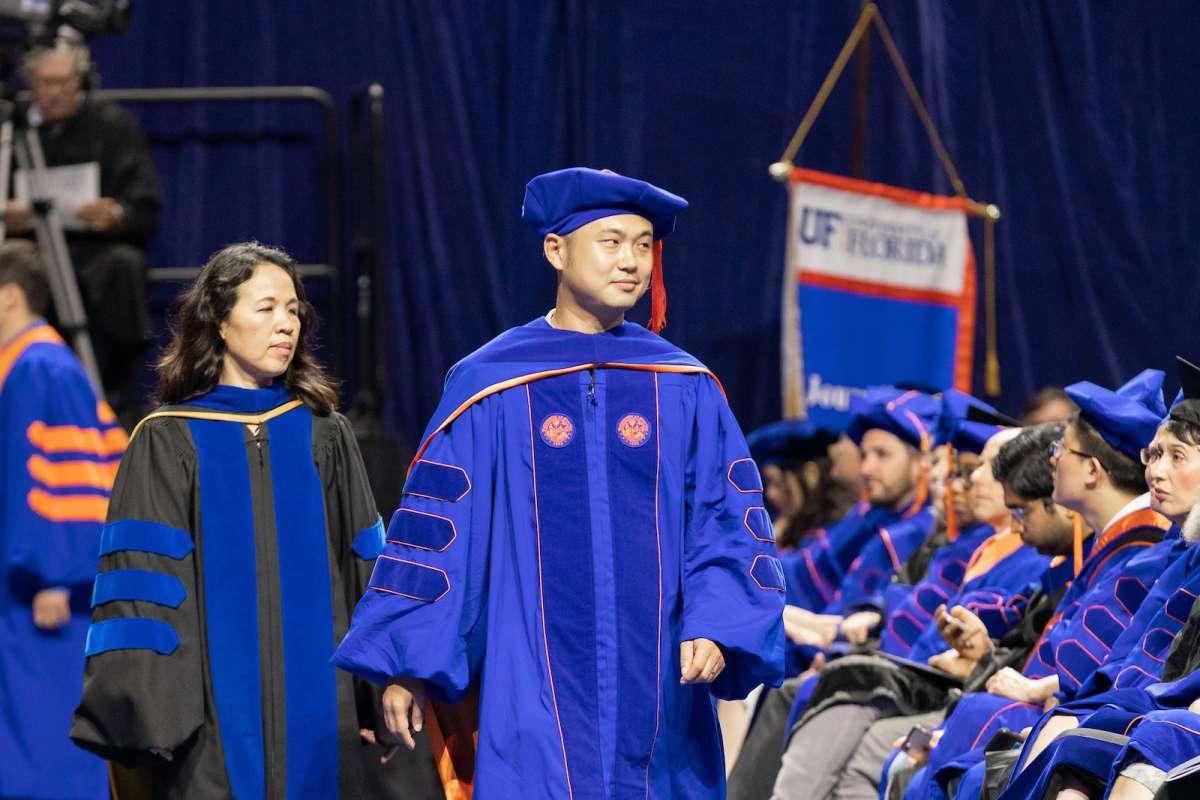 graduate Yun Zhu