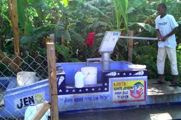 Haiti hand pump