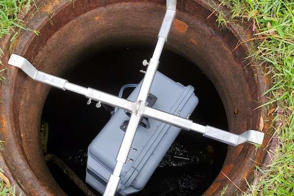 wastewater collection device